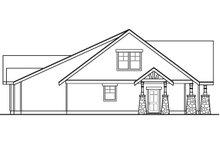 Craftsman Exterior - Other Elevation Plan #124-1042
