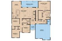 European Floor Plan - Main Floor Plan Plan #923-28