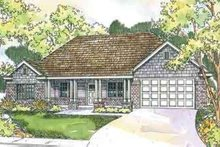 Dream House Plan - Traditional Exterior - Front Elevation Plan #124-558