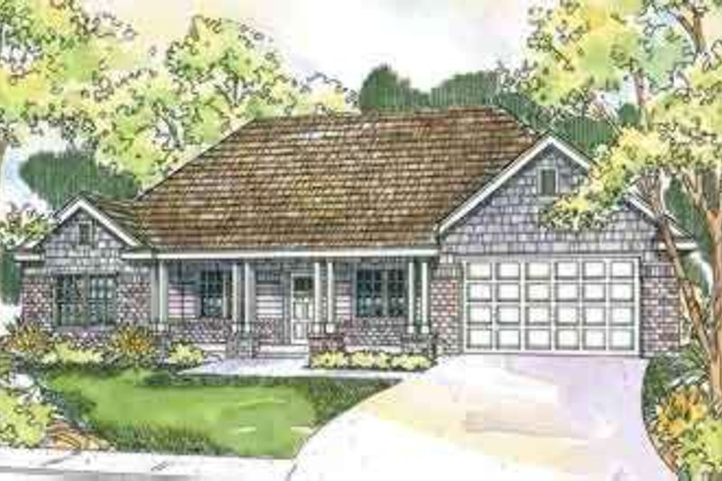 Traditional Exterior - Front Elevation Plan #124-558