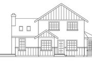 Tudor Style House Plan - 3 Beds 2.5 Baths 2152 Sq/Ft Plan #124-341 Exterior - Other Elevation