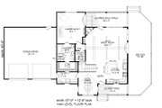Country Style House Plan - 3 Beds 2.5 Baths 1854 Sq/Ft Plan #932-261 Floor Plan - Main Floor