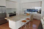 Modern Style House Plan - 4 Beds 2.5 Baths 3615 Sq/Ft Plan #496-13 Interior - Kitchen
