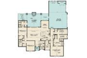 Contemporary Style House Plan - 3 Beds 4.5 Baths 2641 Sq/Ft Plan #923-125 Floor Plan - Main Floor Plan