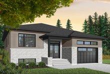 Modern Exterior - Front Elevation Plan #23-2698