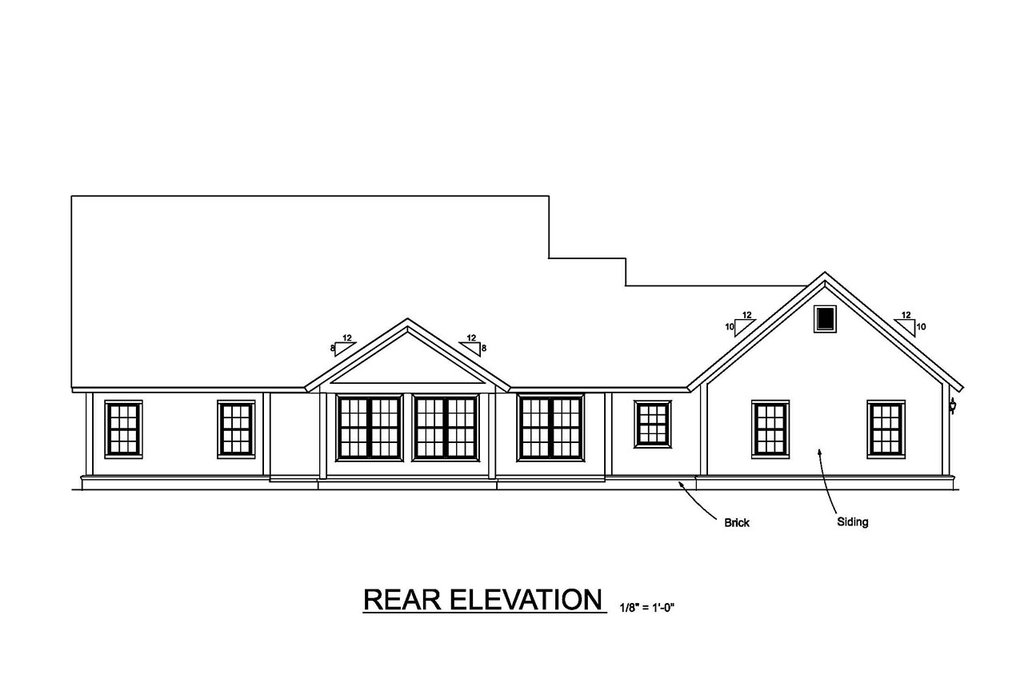 ranch style house plan - 4 beds 3 5 baths 2487 sq  ft plan  513-2185
