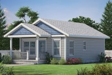 House Plan Design - Cabin Exterior - Front Elevation Plan #20-2365