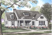 Dream House Plan - Country Exterior - Front Elevation Plan #923-35