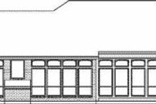 Dream House Plan - Traditional Exterior - Rear Elevation Plan #84-141