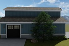Dream House Plan - Traditional Exterior - Other Elevation Plan #1060-97