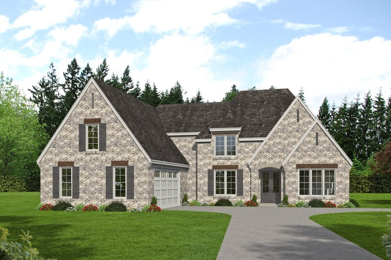 Dream House Plan - Southern Exterior - Front Elevation Plan #932-340