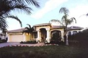 Mediterranean Style House Plan - 3 Beds 3 Baths 2505 Sq/Ft Plan #115-101 Exterior - Front Elevation