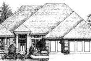 Exterior - Front Elevation Plan #310-132