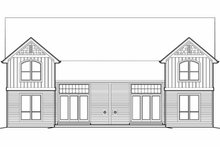 Home Plan - Craftsman Exterior - Rear Elevation Plan #48-549