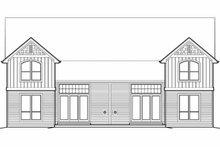 Dream House Plan - Craftsman Exterior - Rear Elevation Plan #48-549