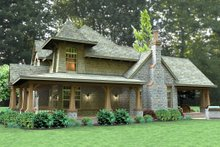 Dream House Plan - Craftsman Exterior - Other Elevation Plan #120-179