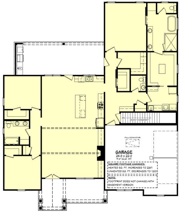 Traditional Floor Plan - Other Floor Plan #430-255