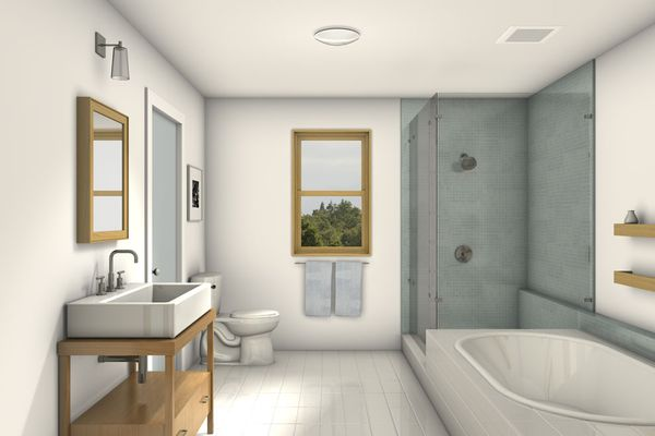 Modern Floor Plan - Main Floor Plan Plan #497-53