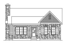 Cottage Exterior - Front Elevation Plan #22-570