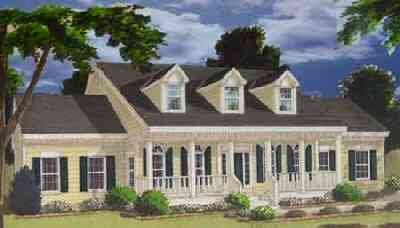 Farmhouse Style House Plan - 5 Beds 3.5 Baths 2705 Sq/Ft Plan #3-217 Exterior - Front Elevation