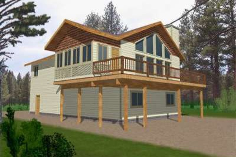 Traditional Exterior - Front Elevation Plan #117-324