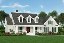 House Plan Design - Country Exterior - Front Elevation Plan #929-344