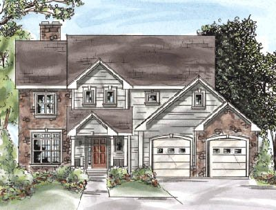 Traditional Exterior - Front Elevation Plan #20-1275