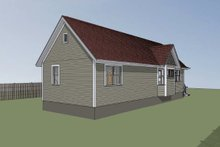 Architectural House Design - Cottage Exterior - Other Elevation Plan #79-104