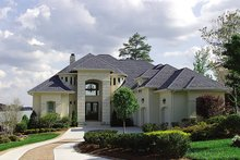 Home Plan - European Exterior - Front Elevation Plan #453-39