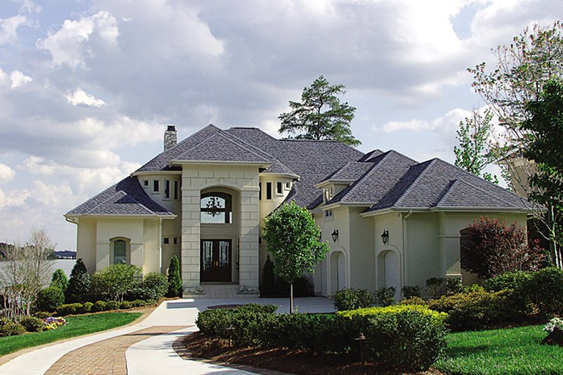Dream House Plan - European Exterior - Front Elevation Plan #453-39