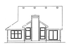 Traditional Exterior - Rear Elevation Plan #20-581