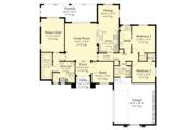 Contemporary Style House Plan - 3 Beds 2 Baths 1808 Sq/Ft Plan #930-451 Floor Plan - Main Floor Plan