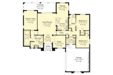 Contemporary Floor Plan - Main Floor Plan Plan #930-451