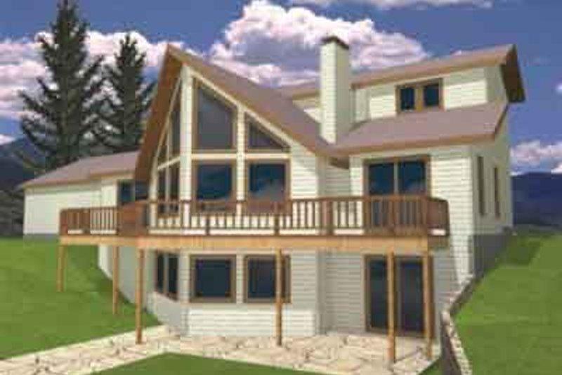 Modern Exterior - Front Elevation Plan #117-222