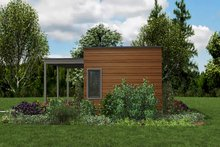 Contemporary Exterior - Other Elevation Plan #48-953