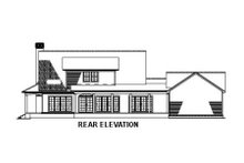 House Plan Design - Southern Exterior - Rear Elevation Plan #17-546