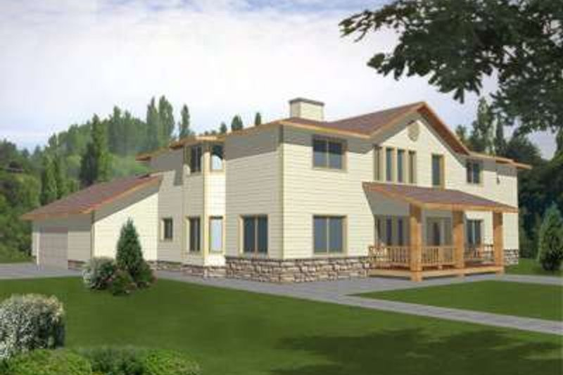Traditional Exterior - Front Elevation Plan #117-321