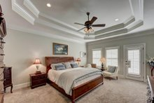 House Plan Design - Traditional Interior - Master Bedroom Plan #437-118