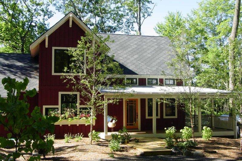 Home Plan - Farmhouse Exterior - Front Elevation Plan #901-11