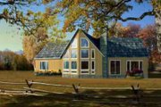 House Plan - 3 Beds 2.5 Baths 1697 Sq/Ft Plan #1-626 Exterior - Front Elevation