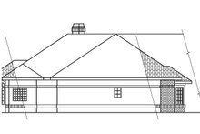 House Plan Design - Ranch Exterior - Other Elevation Plan #124-238