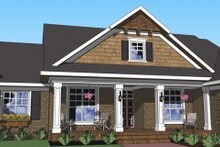 Home Plan - Craftsman Exterior - Other Elevation Plan #51-510