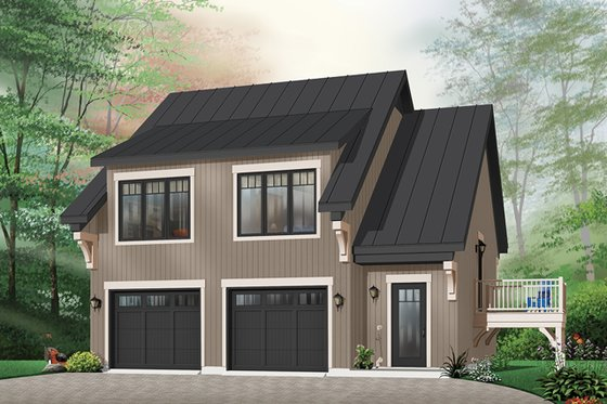 Traditional Exterior - Front Elevation Plan #23-444