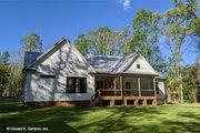 Farmhouse Style House Plan - 3 Beds 2.5 Baths 2187 Sq/Ft Plan #929-1053 Exterior - Rear Elevation