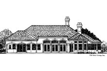 Mediterranean Exterior - Front Elevation Plan #930-44