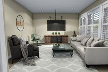 House Plan Design - Main Floor Family Room