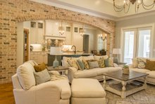 Prairie Interior - Family Room Plan #930-463