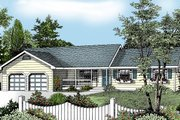 Ranch Style House Plan - 3 Beds 2 Baths 1487 Sq/Ft Plan #97-117