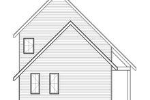 Home Plan - Cottage Exterior - Rear Elevation Plan #23-2736