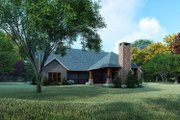 Farmhouse Style House Plan - 3 Beds 2 Baths 2050 Sq/Ft Plan #923-161 Exterior - Rear Elevation